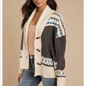Sweaters - TOBI warm cardigan
